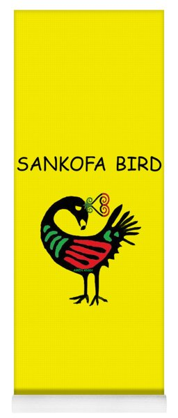 Sankofa Bird Yoga Mat