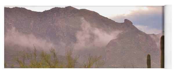 Santa Catalina Mountains II Yoga Mat