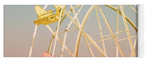 Santa Cruz Ferris Wheel Yoga Mat