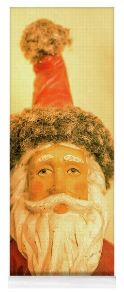 Santa Is Watching Yoga Mat
