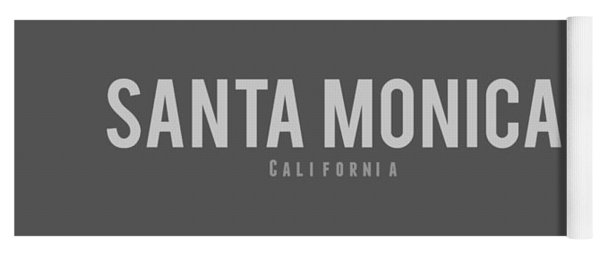 Santa Monica California Yoga Mat