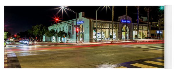 Santa Monica City Lights Yoga Mat