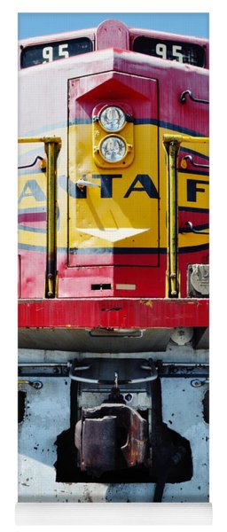 Sante Fe Railway Yoga Mat