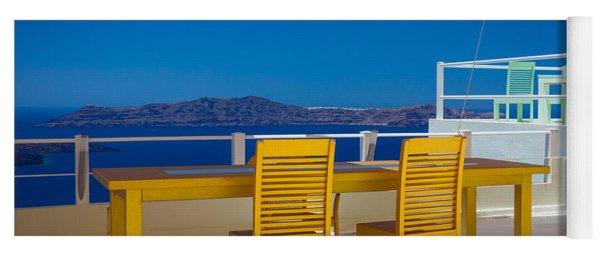 Santorini Patio Yoga Mat