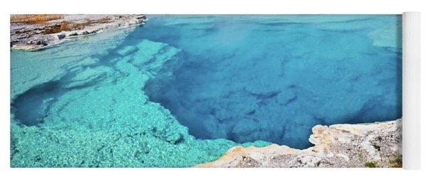 Sapphire Pool, Biscuit Basin Yoga Mat