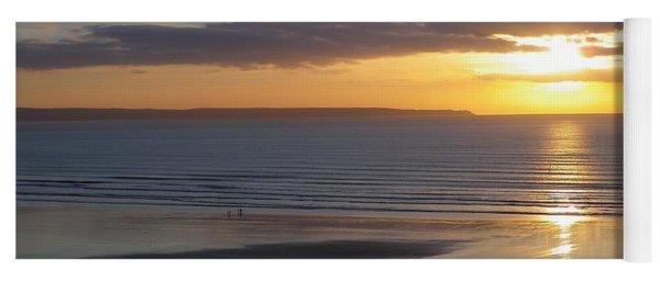 Saunton Sands Sunset Yoga Mat