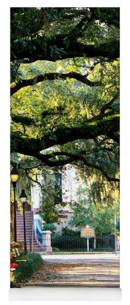 Savannah Park Sidewalk Yoga Mat