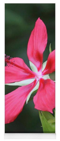 Scarlet Hibiscus #4 Yoga Mat