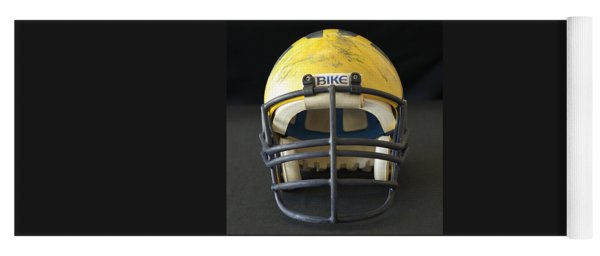 Scarred 1980s Wolverine Helmet Yoga Mat
