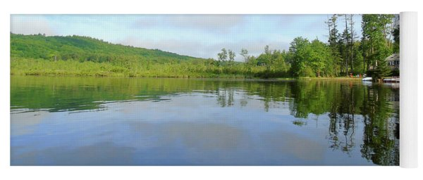 Scenic Gorham Pond #1 Yoga Mat