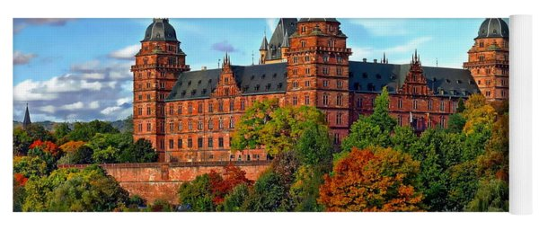 Schloss Johannisburg Yoga Mat