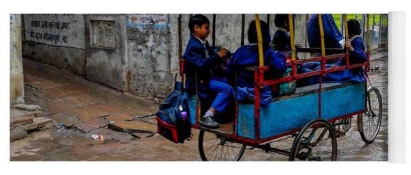 School Cart Yoga Mat