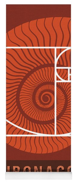 Science Posters - Fibonacci - Mathematician Yoga Mat