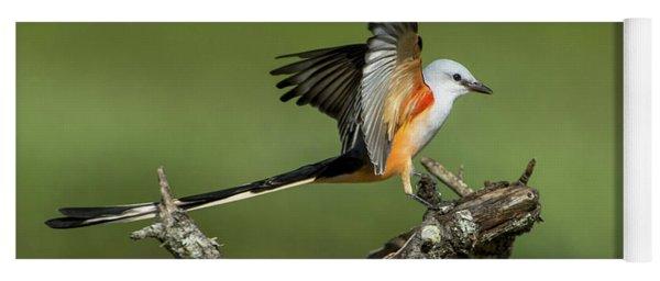 Scissor-tailed Flycatcher Yoga Mat