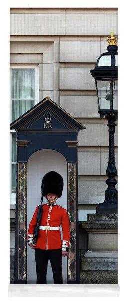 Scots Guard Buckingham Palace Yoga Mat