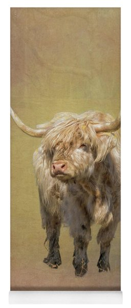 Scottish Highlander Yoga Mat