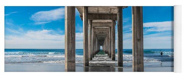 Scripps Pier La Jolla California Yoga Mat
