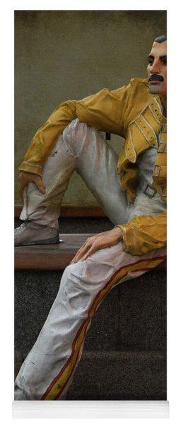 Sculptures Of Sankt Petersburg - Freddie Mercury Yoga Mat