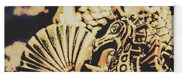 Sea Abstract From The Nautics  Yoga Mat