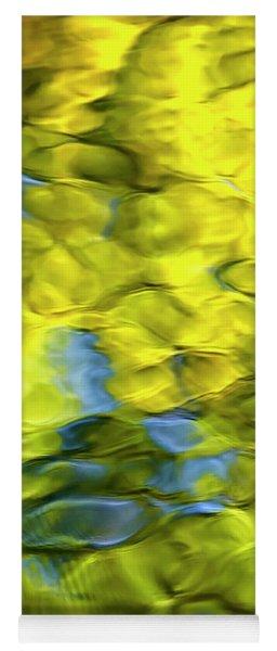 Sea Breeze Mosaic Abstract Yoga Mat