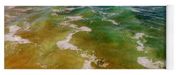 Colorful Ocean Photo Yoga Mat