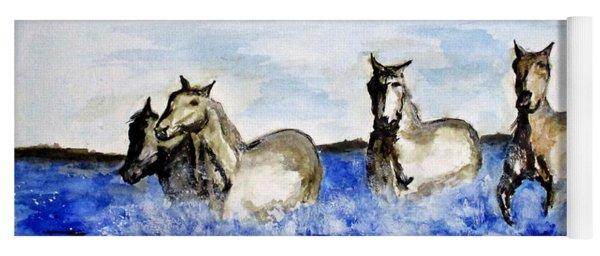 Sea Horses Yoga Mat