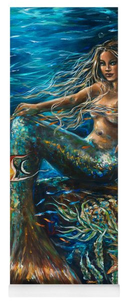 Sea Jewels Mermaid Yoga Mat