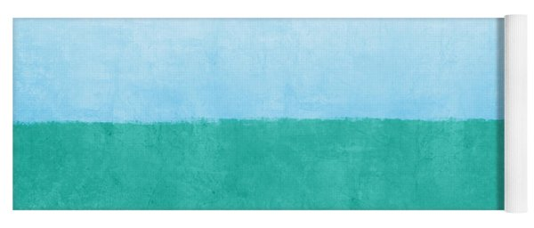 Sea Of Blues Yoga Mat