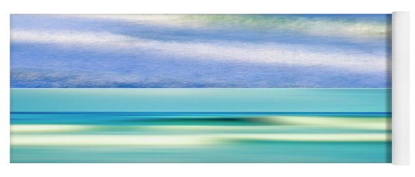 Sea Of Dreams Collage Yoga Mat