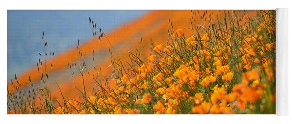Sea Of Poppies Yoga Mat