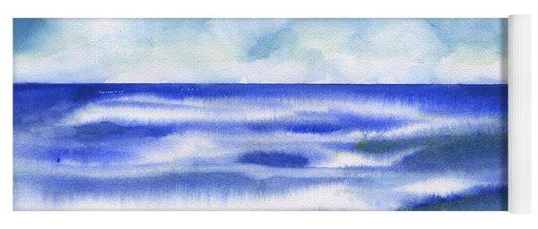 Sea - A Sunny Day Yoga Mat