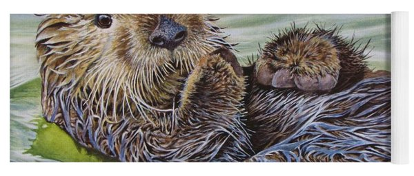 Sea Otter Yoga Mat
