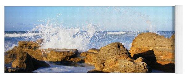 Sea Splash Yoga Mat