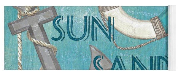 Sea Sun Sand Yoga Mat