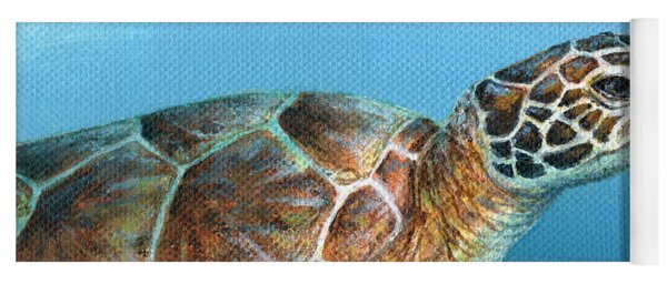 Sea Turtle 2 Of 3 Yoga Mat