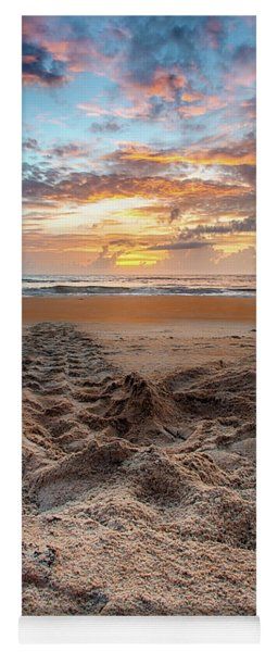 Sea Turtle Trails Yoga Mat