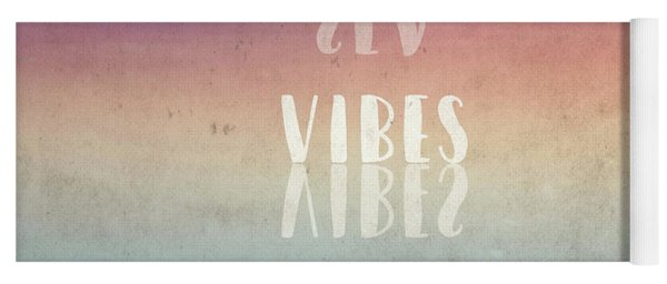 Sea Vibes Only Yoga Mat