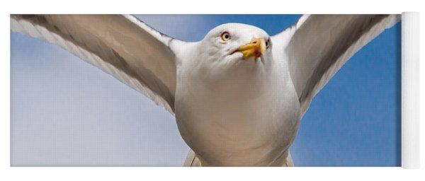 Seabird Closeup Yoga Mat