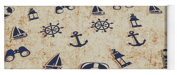 Seafaring Antiques Yoga Mat