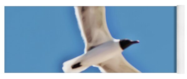 Seagull In Flight Yoga Mat