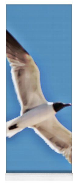 Seagull In Flight Yoga Mat