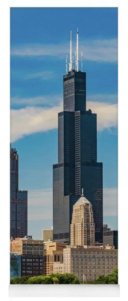 Sears Tower Chicago Yoga Mat