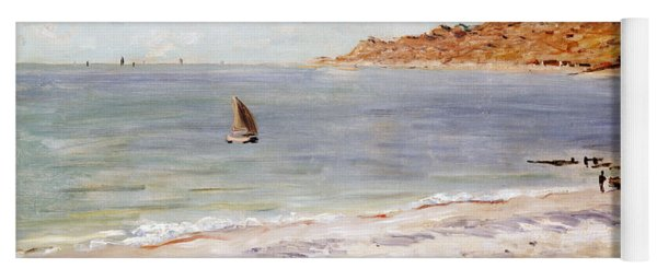 Seascape At Sainte Adresse  Yoga Mat
