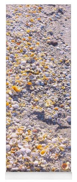 Seashells In Sanibel Island, Florida Yoga Mat