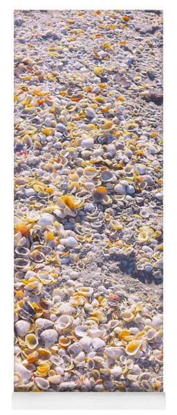 Seashells In Sanibel Island, Florida Yoga Mat