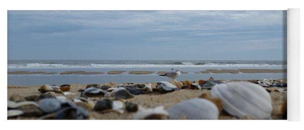 Seashells Seagull Seashore Yoga Mat