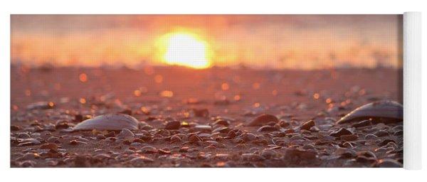 Seashells Suns Reflection Yoga Mat