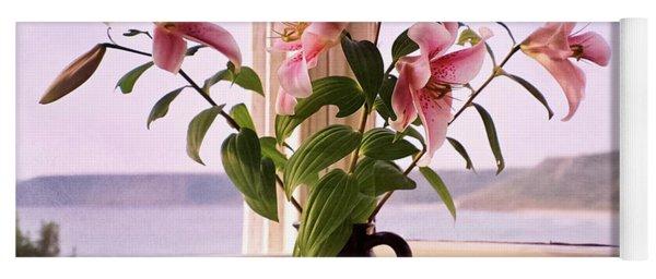 Seaside Lilies Yoga Mat