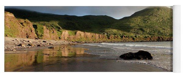 Seaside Reflections, County Kerry, Ireland Yoga Mat