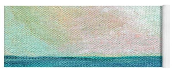 Seaside Sunset- Expressionist Landscape Yoga Mat